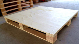 pallet use plywood